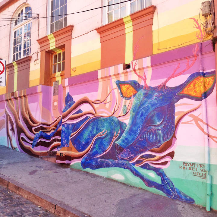 Gonzalo Sánchez Painters vaparaiso <em>Outdoor Gallery NYC</em> Author Yoav Litvin on the Streets of South America with: Inti, Gonzalo Sánchez <em>Painters</em>, Stinkfish &amp; the APC Crew, Entes &amp; Pésimo, Decertor, Marcelo Ment, Tarm1, Nove and Apitatan