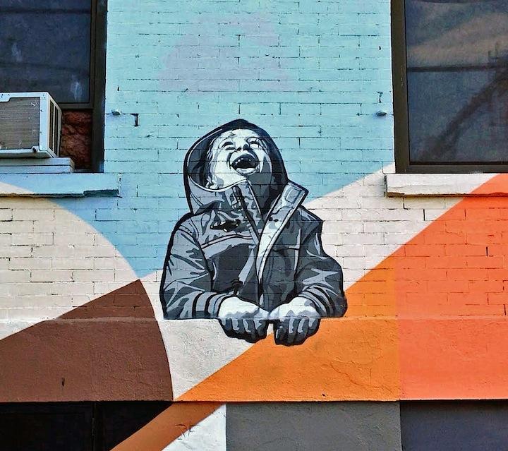 Joe Iurato Jersey City Kids on Walls — Part VII: Gustavo Nénão, Joe Iurato, Stinkfish, Jef Aerosol and Danielle Mastrion