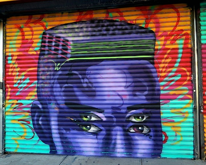 Mark Paul Deren Madsteez street art nyc NYC Shutters – Part IX: Claw Money, Fumero, Daze, Iena Cruz, Plasma Slug, Madsteez, Armas Carino, Margot Bird and JR