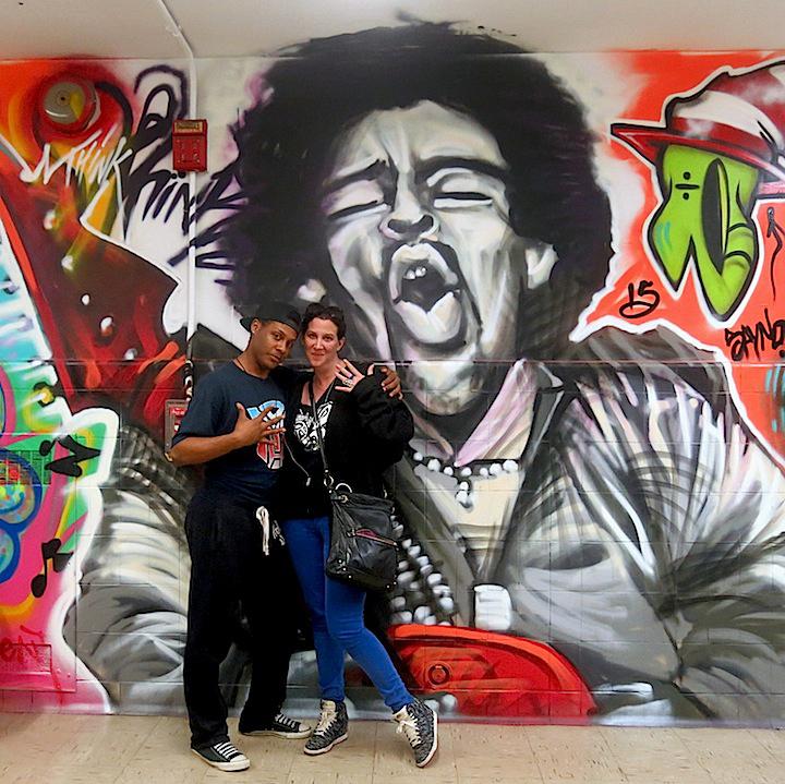 nicholai Kahn art marie justin edited 1 Back to August Martin HS with 5Pointz: El Niño de las Pinturas, Ben Angotti, Nicholai Kahn, Trace, Skio, Elle, Andre Trenier, ZaOne & Meres