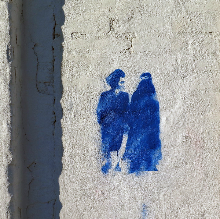stencil-art-Hasid-lady-with-burqa-NYC