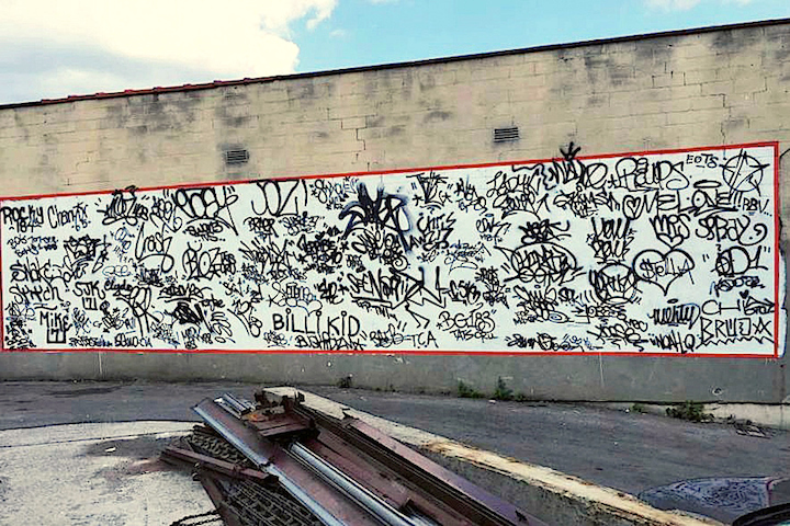 Handstyles complete <em>No Longer Empty</em> Presents <em>A Timeline of Handstyles: Signatures from the 1960s to Present Day</em> Across from Old Bronx Borough Courthouse