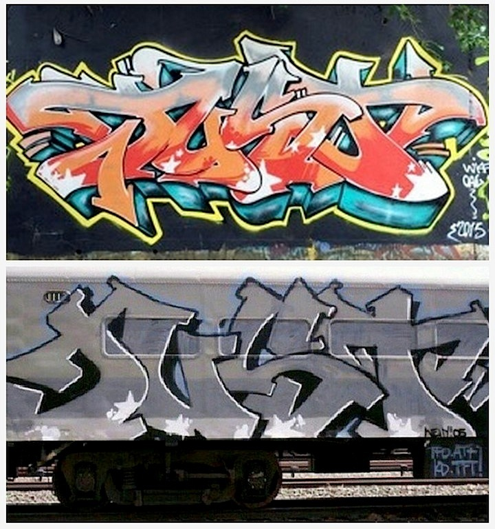 Just graffiti three pieces1 Speaking with Bronx Based Just One