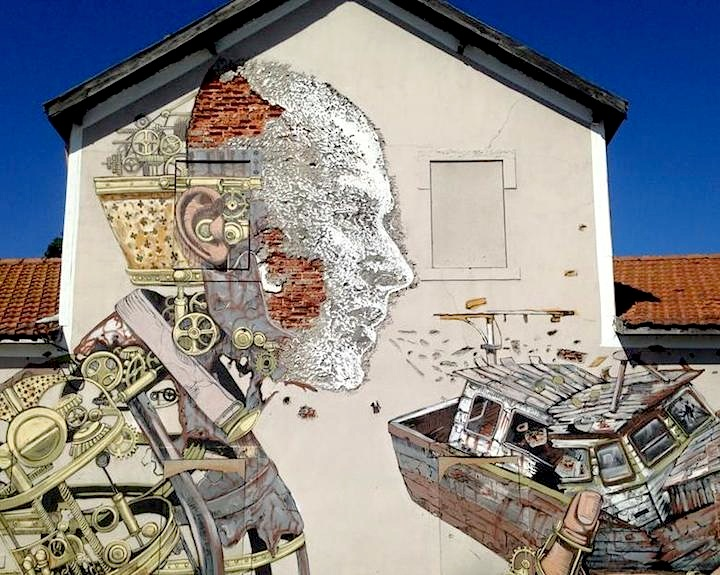 Pixel-Pancho-and Vhils-close-up-street-art-Lisbon
