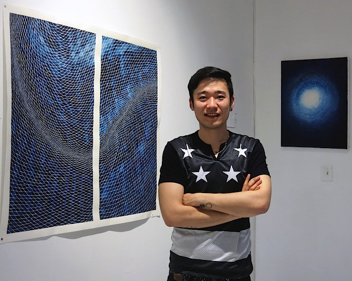 Timothy-lee-with-art-in-studio
