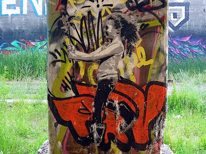 Ax-stencil-art-Rochester-subway