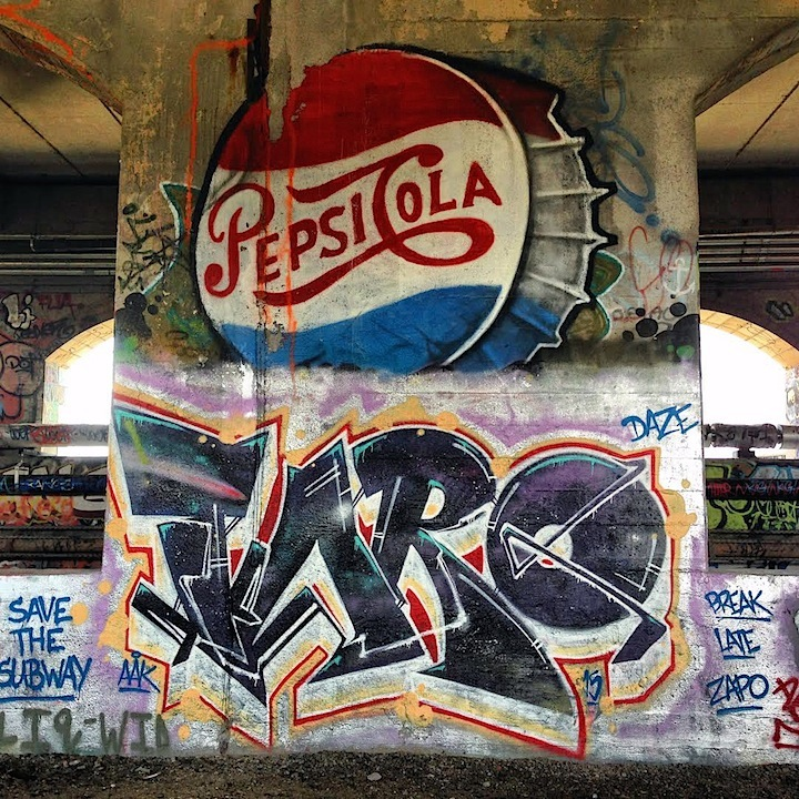 Freedom-and-Taro-graffiti-Rochester-subway