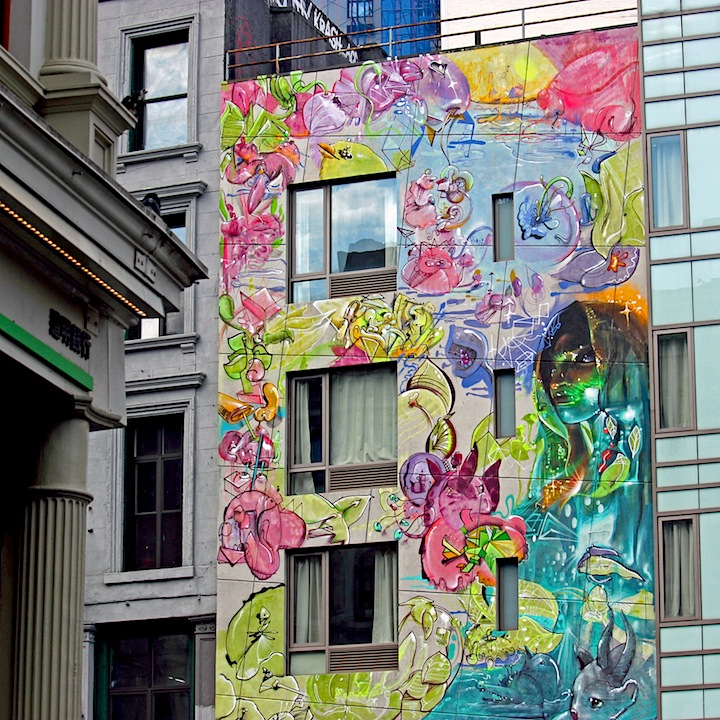 cern mural street art nyc Cernesto and El Niño de Las Pinturas Go Big in Downtown Manhattan