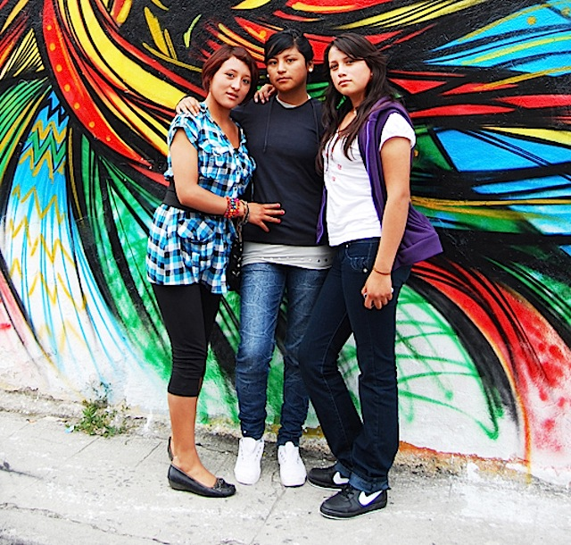 Ecuador graffiti Women Toofly on the Upcoming All Women Warmi Paint Arts Festival in Quito