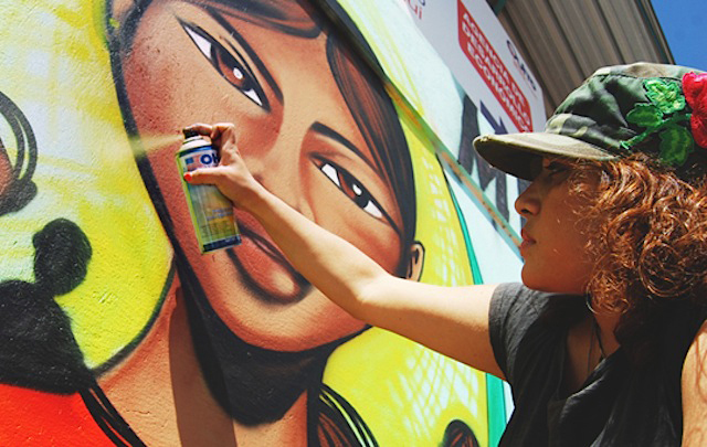 Graffiti Ecuador. jpg Toofly on the Upcoming All Women Warmi Paint Arts Festival in Quito