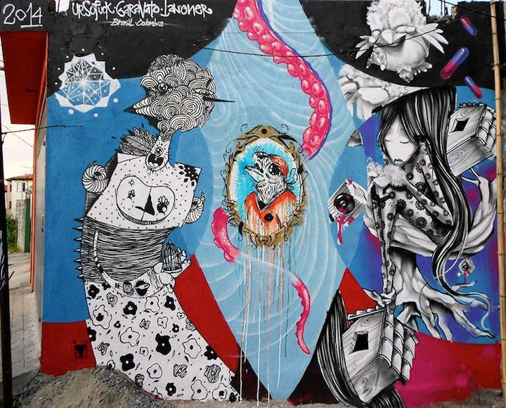 garavato collab street art Speaking with Colombian Artist Garavato in NYC
