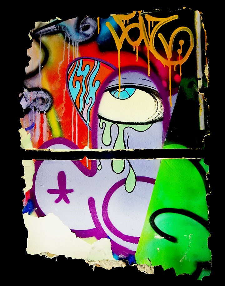 giz and ghost graffiti fragment 21st Precinct Anniversary Exhibit Continues Through Tomorrow at 196 Bowery: Alice Mizrachi, Ghost & Giz, Chris Soria & Misha Tyutyunik, Pesu, Lorenzo Masnah, Ben Angotti, Bad Pedestrian, N Carlos J & more