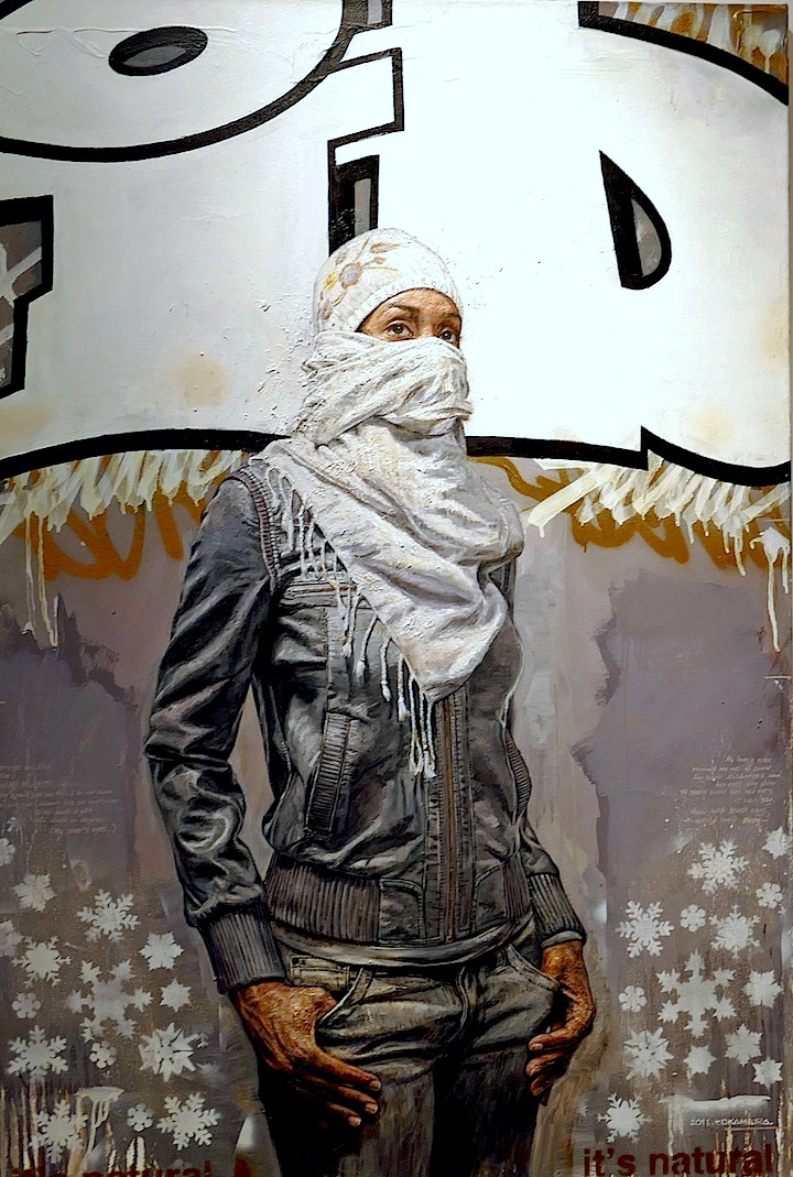 Tim Okamura art ID <em>More than Words</em> Continues at Azart Gallery through October 3 with: Ayad Alkadhi, Tim Okamura, Rocko, Greg Lamarche, C215 and more