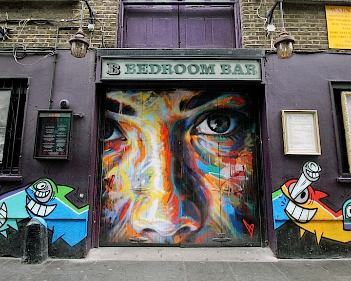 david walker pez street art london Street Art NYC in London, Part I: David Walker, Pez, Stik, Vinie, Martin Ron, Jekse & Cines, Alexis Diaz & Elian and TelmoMiel
