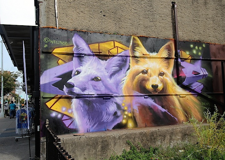 welinoo street art nyc <em>Writing on the Walls</em> in Brownsville, Brooklyn, Part II: Joel Artista, Welin, Ben Angotti, Zeso, Teo Doro and Phetus