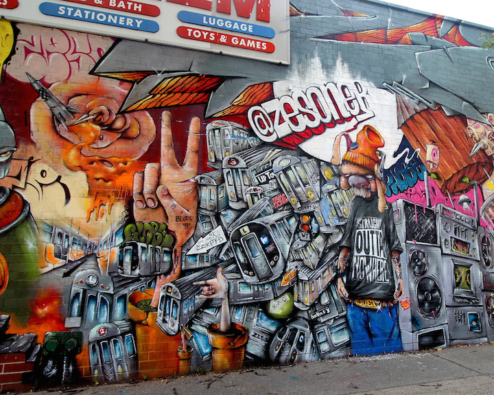 zeso street art detail nyc <em>Writing on the Walls</em> in Brownsville, Brooklyn, Part II: Joel Artista, Welin, Ben Angotti, Zeso, Teo Doro and Phetus