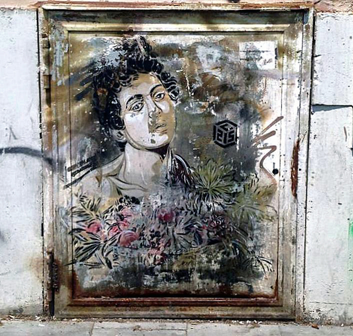 C215 street art Rome Street Art NYC in Romes San Lorenzo Neighborhood: Alice Pasquini, C215, Solo, Broken Fingaz, Above and more