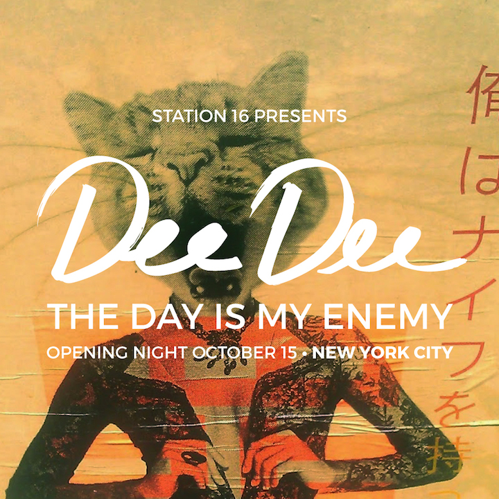 Dee Dee Opening Station 16 Presents Dee Dee: <em>The Day Is My Enemy</em> at 2 Rivington