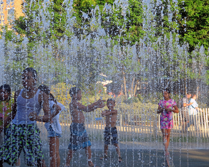 Jeppe Hein Brooklyn Bridge Park NYC Jeppe Hein: <em>Please Touch the Art</em> at Brooklyn Bridge Park