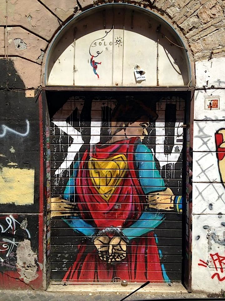 Solo street art rome Street Art NYC in Romes San Lorenzo Neighborhood: Alice Pasquini, C215, Solo, Broken Fingaz, Above and more