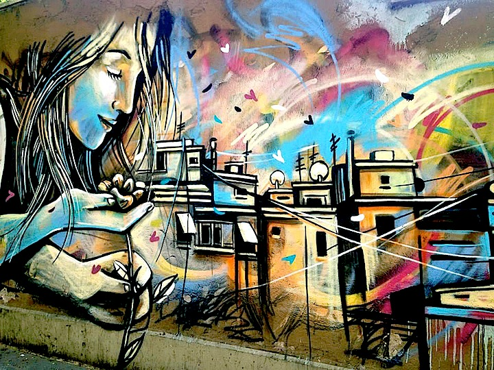 alice pasquini street art rome Street Art NYC in Romes San Lorenzo Neighborhood: Alice Pasquini, C215, Solo, Broken Fingaz, Above and more