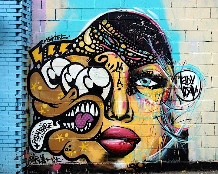 be bar paris artist 2 Curious Characters on NYC Streets, Part VII: Fanakapan, Bebar, Telleache, Pyramid Oracle and Mr Nerds