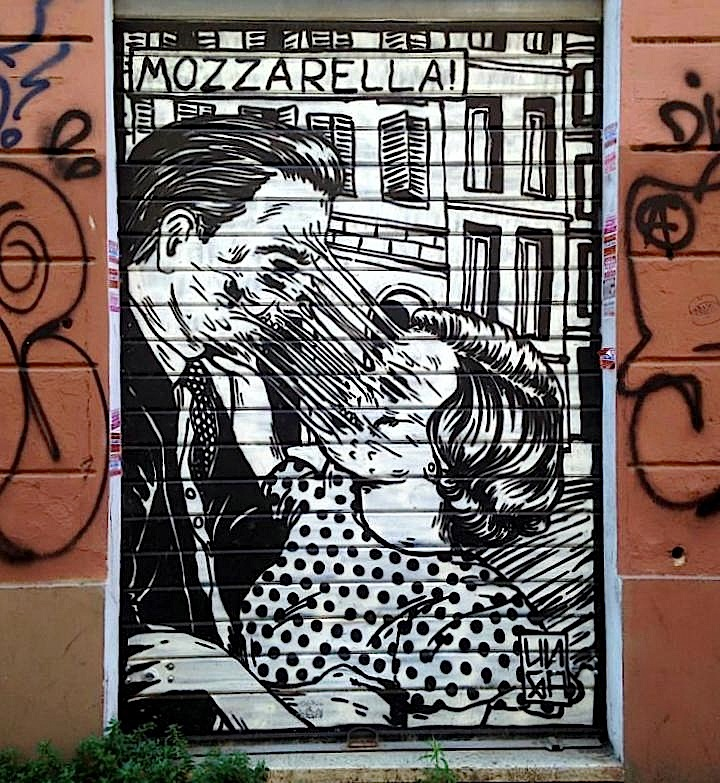 broken fingaz street art rome Street Art NYC in Romes San Lorenzo Neighborhood: Alice Pasquini, C215, Solo, Broken Fingaz, Above and more