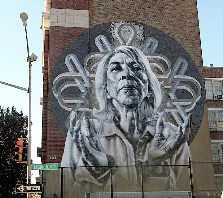 el mac celso gonzalez cero street art East Harlem Monument Art in East Harlem and the South Bronx: Cero with El Mac, Faith 47, Luis R Vidal, Roa, Sego, Viajero, Ever and 2Alas