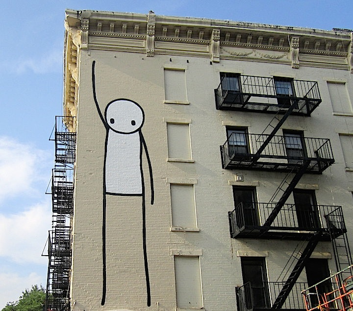 stik London Based Stik on His Iconic Character and His Newly Released Book