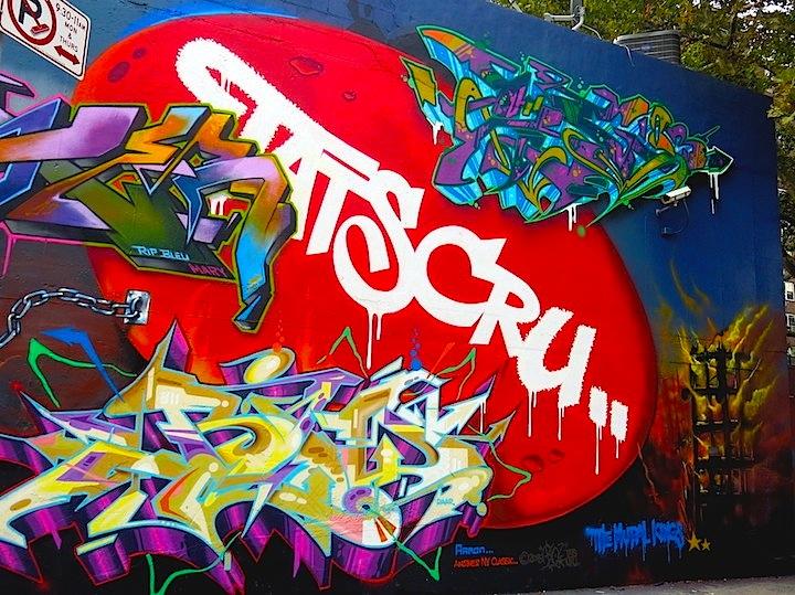 BG tats cru graffiti Bronx NYC Speaking with BG 183 Tats Cru at His Solo Exhibit in Hunts Point