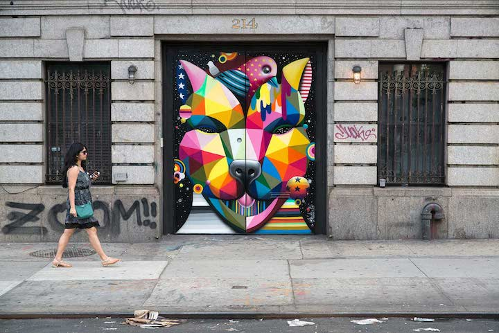 Okudua-street-art-on-Lafayette-David Sharabani-in-NYC