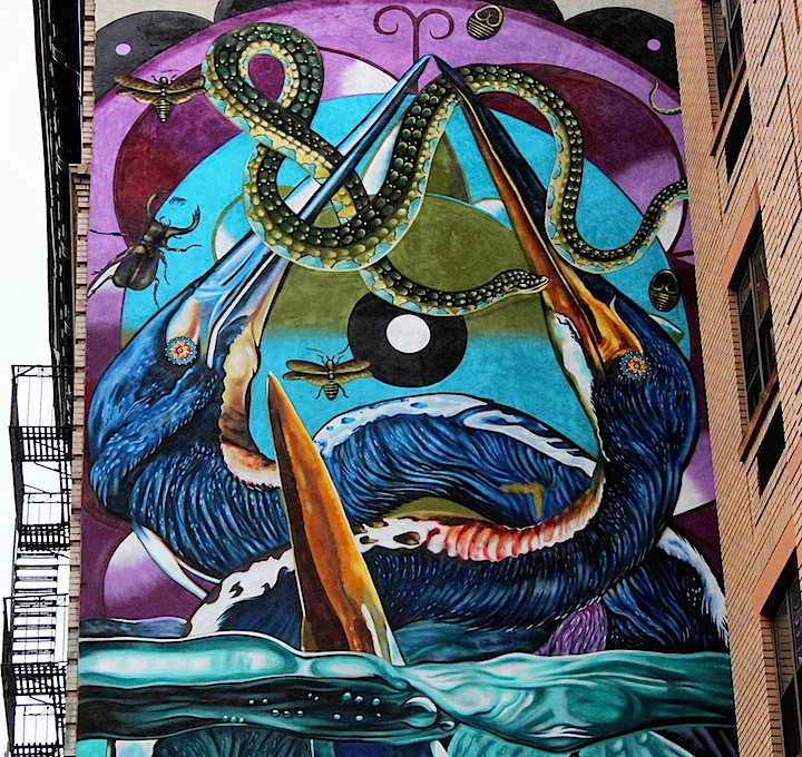 iena-cruz-street-art-audubon-mural-project-NYC closeup