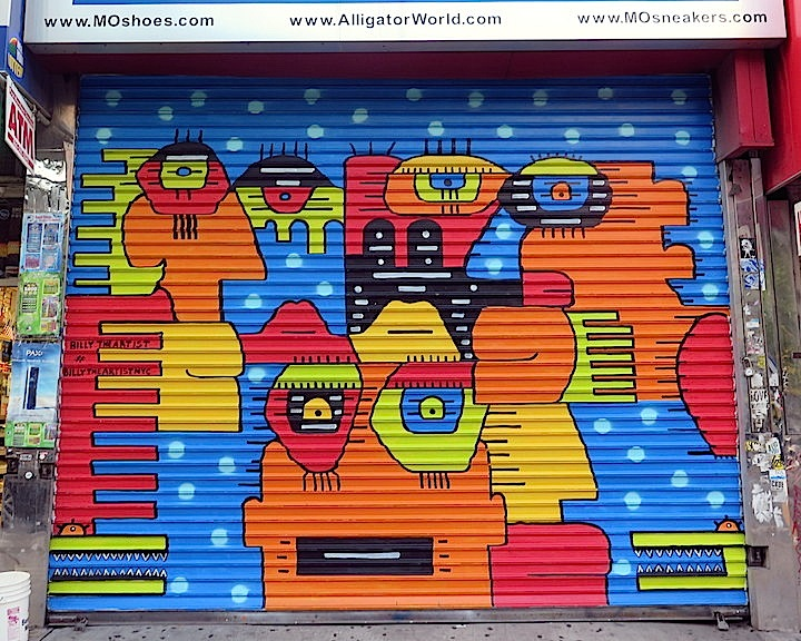 Billy-the-artist-Lower East Side-street-art--NYC