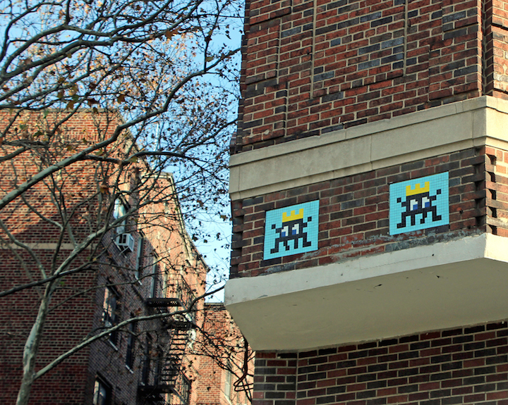 space-invader-street-art-village-NYC