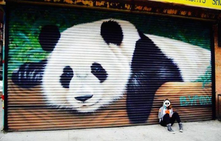 BK Foxx street art NYC NYC Shutters – Part X:  Street Art and Graffiti by Izolag, BK Foxx, Ezo, Wane and Mr. Prvrt with A Visual Bliss