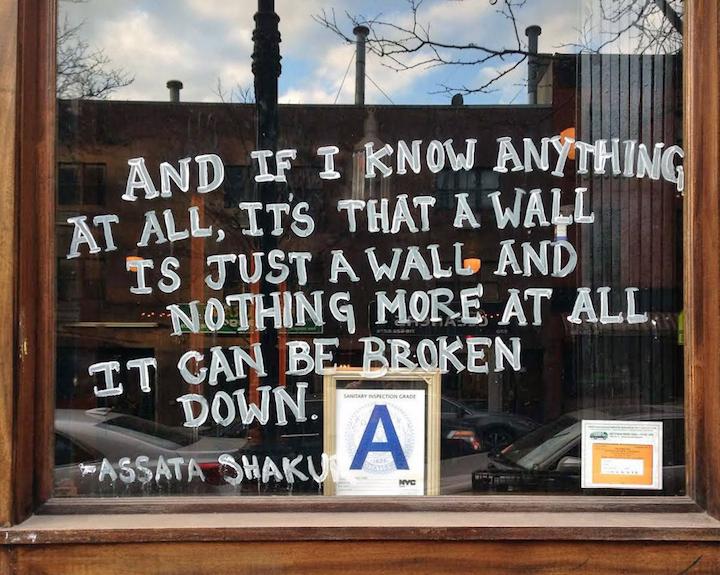 Sophia dawson street art nyc Politically and Socially Conscious NYC Street Art, Part III: Kingbee with Tito Na Rua, Hanksy, Groundswell Youth with Danielle McDonald & Jazmine Hayes, Hunt Rodriguez and Sophia Dawon