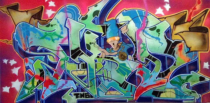 T-kid-on-canvas-at-212-arts-NYC