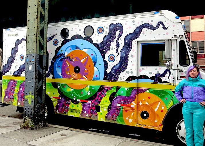 cruz-art-on truck-nyc