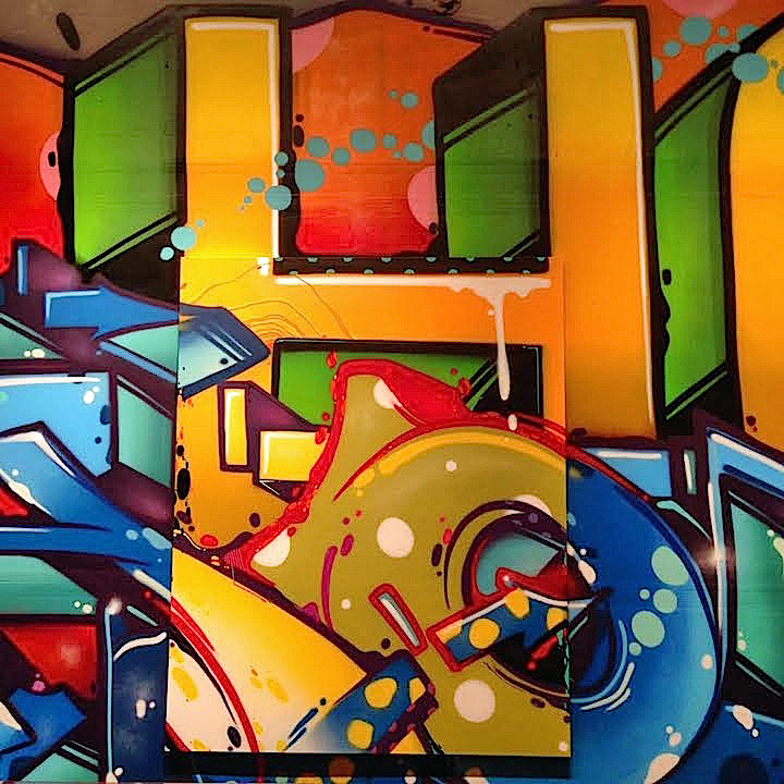 Hoacs graffiti H Eden Fine Art Hoacs on <em>No Days Off</em>, His First Solo Exhibit, at Eden Fine Art in SoHo