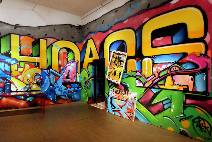 Hoacs graffiti exhibit soho nyc Hoacs on <em>No Days Off</em>, His First Solo Exhibit, at Eden Fine Art in SoHo