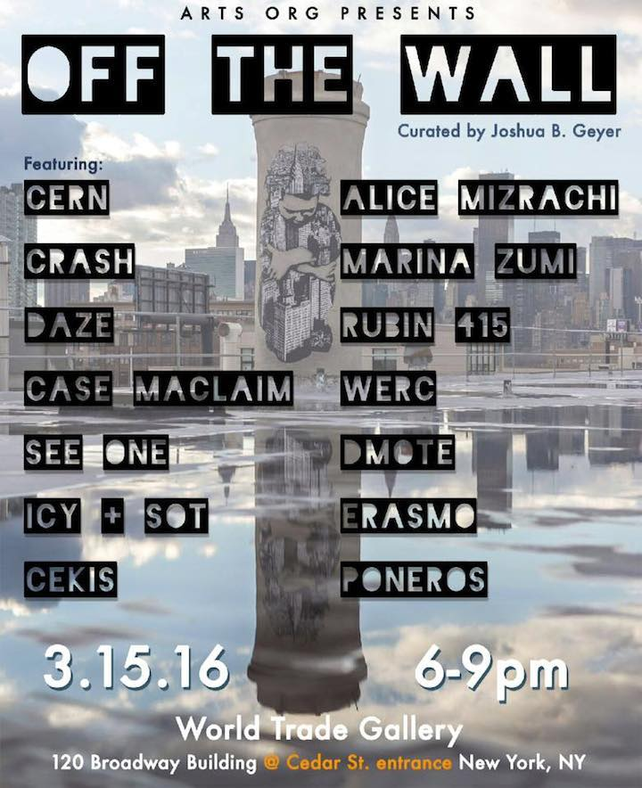 Off the wall-flyer