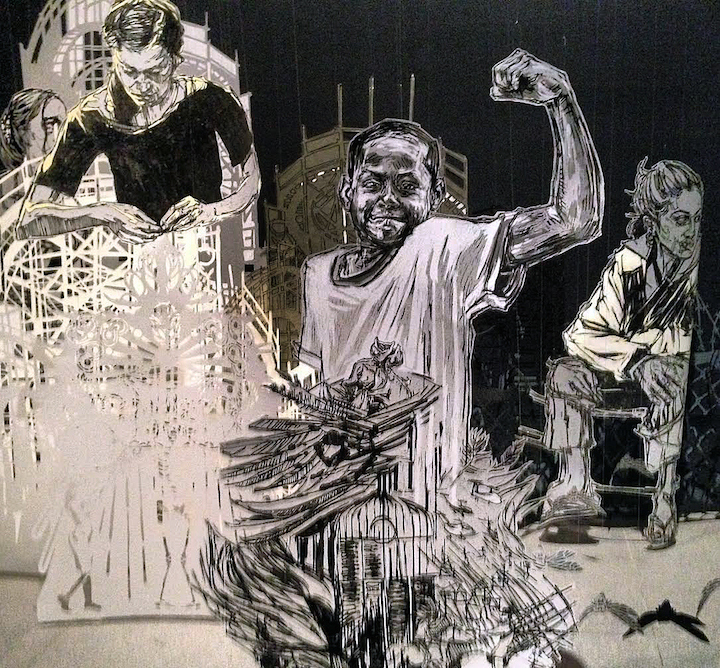 Swoon-installation-for-coney-island-brooklyn-museum