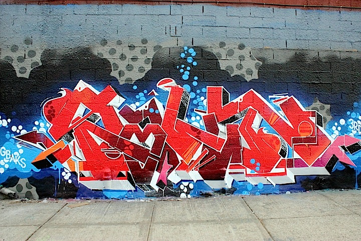 fecks graffiti nyc Blazing in Bushwick: Graffiti by Kems, Sp One, Amuse, Roachi, Toper, Fecks and Hoacs