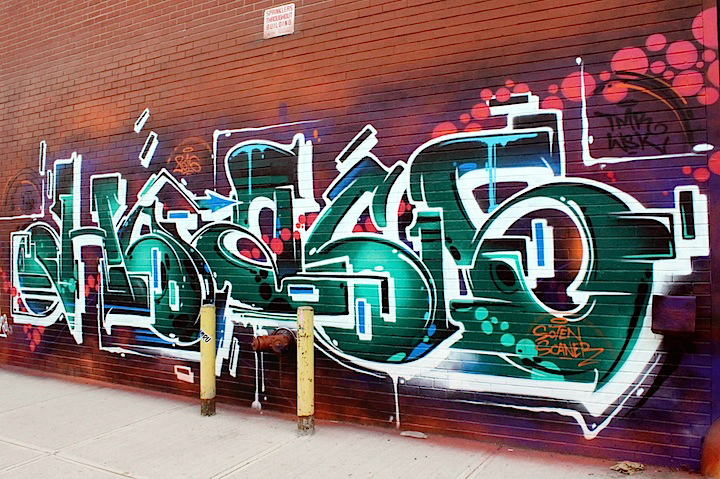 hoacs graffiti nyc Blazing in Bushwick: Graffiti by Kems, Sp One, Amuse, Roachi, Toper, Fecks and Hoacs