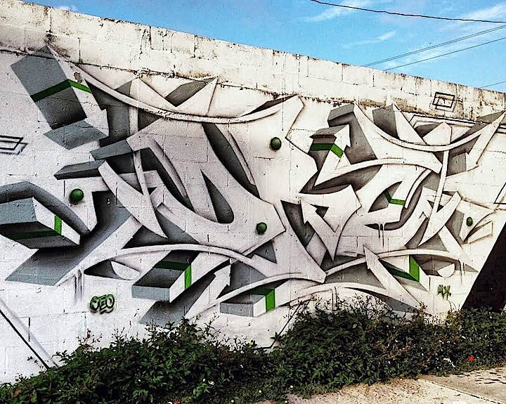 Dre Boogie Dre Ceo Crew graffiti Miami Beyond Wynwood: Street Art and Graffiti in Buena Vista, Miami with Nate Dee, Claudio Picasso, Renda Writer & Claudia La Bianca, DRE Boogie, Smog One, Will Rodriguez and Neks One