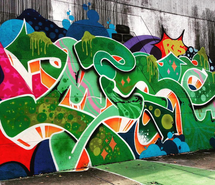 Miroism graffiti miami Miamis Vibrant Graffiti Walls: Miro, Vejam, Gorey, Bulks, Vogue, Ligisd, Mastro and Krave