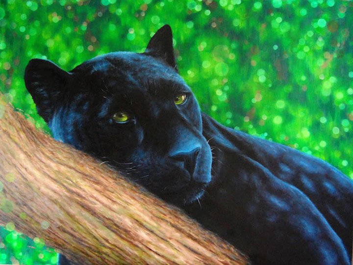 bk foxx panther BK Foxx on Her Solo Exhibit <em>Kingdom</em> at Woodward Gallery