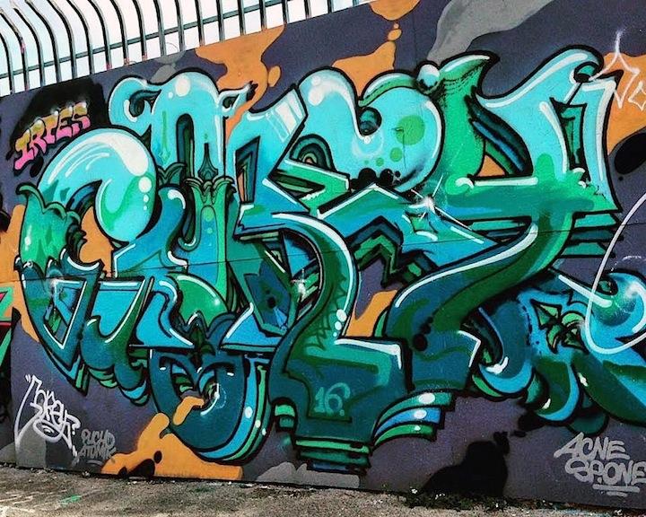 gorey Miamis Vibrant Graffiti Walls: Miro, Vejam, Gorey, Bulks, Vogue, Ligisd, Mastro and Krave
