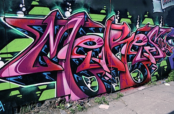 meres otm graffiti bushwick NYC At <em>Brooklyn Reclaimed</em>: An Oasis of Color and Style with Meres, Demer, Topaz, Jerms, Zimad  and Bishop 203