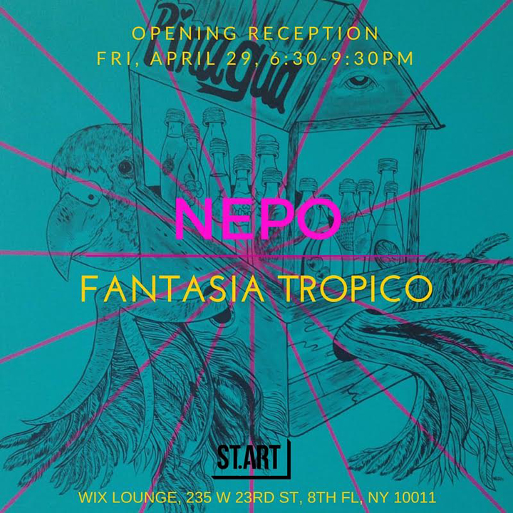 nepo at wix lounge Nepo on <em>Fantasia Tropico</em> at Chelseas Wix Lounge, His Recent Projects in Brazil and Dubai and more